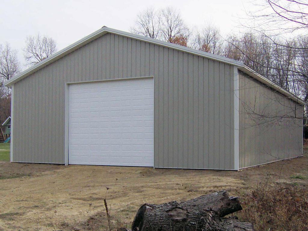 Pole barn contractor lewiston idaho lc valley concrete for Metal barn construction