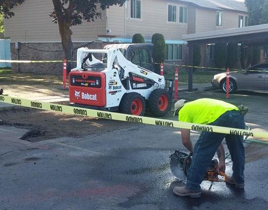 Demolition Concrete Poles : Services lc valley concrete